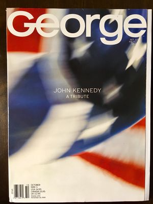 JFK Jr.'s George Magazine October 1999 Special Tribute Issue John Kennedy VF-NM for Sale for sale  San Antonio, TX
