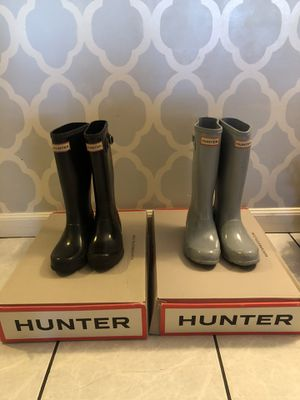Hunters and gladiators... size 1 boots size 11 gladiators for Sale in Lake View Terrace, CA