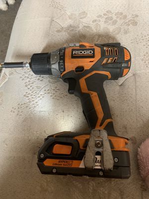 Ridgid Drill 2 speed for Sale in Fontana, CA