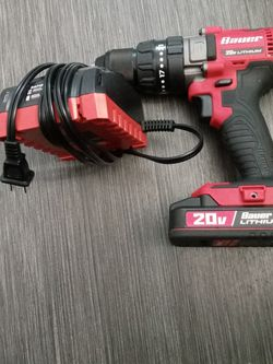 Bauer 20v Hammer Drill w Rapid Charger for Sale in Kansas City,  MO