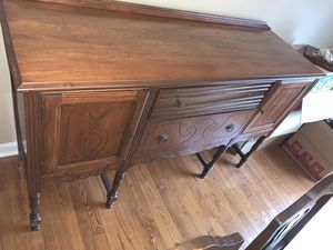 Wooden antique buffet for Sale in Knoxville, TN