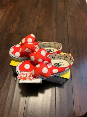 Brand new ! Minnie bow shoes (vans) for Sale in Temecula, CA