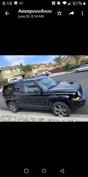 2017 Salvage title, Jeep Patriot sport for Sale in San Diego, CA