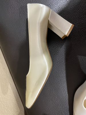 Bridesmaid Shoes (size 7.5 )Libby Satin for Sale in San Jose, CA
