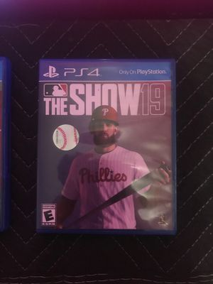Spider-Man, MLB the show 19 $40 for Sale in Los Angeles, CA