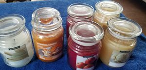 6 large scented candles (17 oz each) for Sale in San Clemente, CA