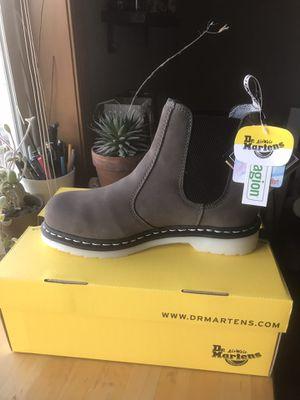 Dr Martens Chelsea boot, grey, women's sz 8 for Sale in Portland, OR