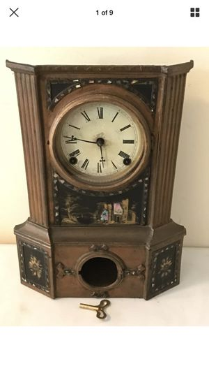 Antique American Clock Company Mantle Gong Clock for Sale in Lexington, SC