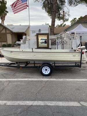1978 14ft MirrorCraft Aluminum Outboard Boat w/ Johnson 9.9 Motor for Sale in Las Vegas, NV
