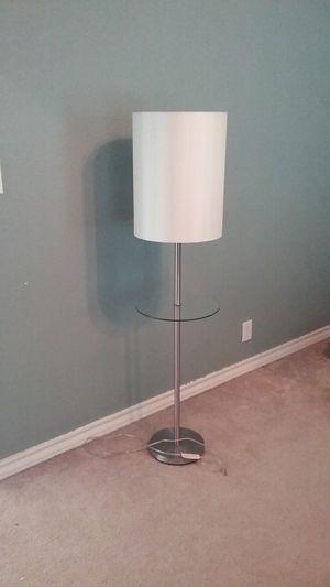 glass floor lamp for Sale in San Antonio, TX