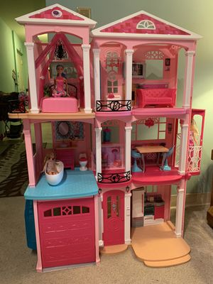 Barbie doll house with elevator! for Sale in Silver Spring, MD