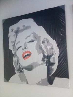 Marilyn Monroe Print on Canvas for Sale in Downey, CA