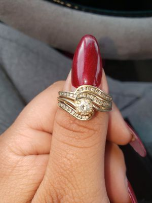 Wedding ring 14 k gold for Sale in Traverse City, MI