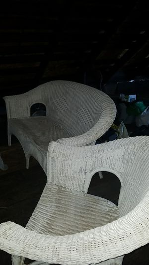 De mimbre el set, patio furniture for Sale in Chicago, IL