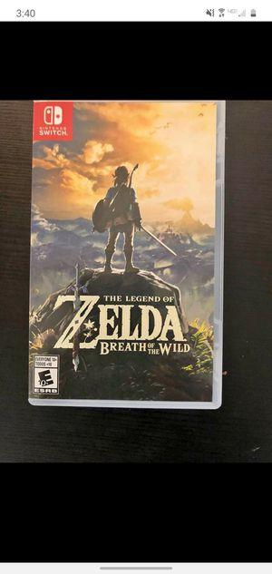 Trade Zelda breath of the wild offer for Sale in Phoenix, AZ