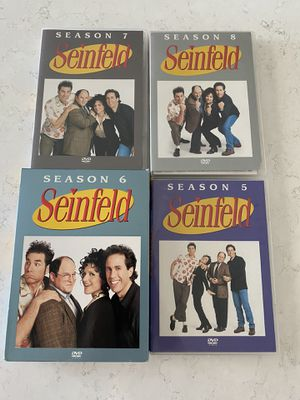 Seinfeld on DVD Seasons 5, 6, 7 & 8 for Sale in Aurora, CO