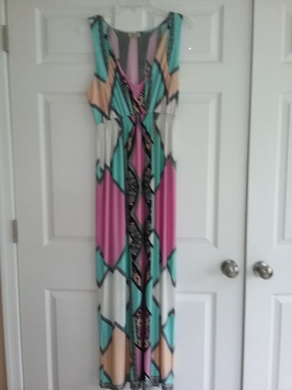 Maxi dress {contact info removed}
