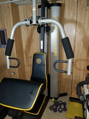 Golds Gym Home Gym for upper body & legs for Sale in Des Plaines, IL