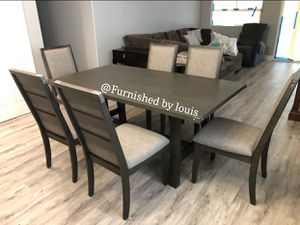 Grey Formal Dinning Set for Sale in Los Angeles, CA