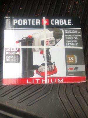 Porter Cable Finish Nailer Gun for Sale in Dallas, TX