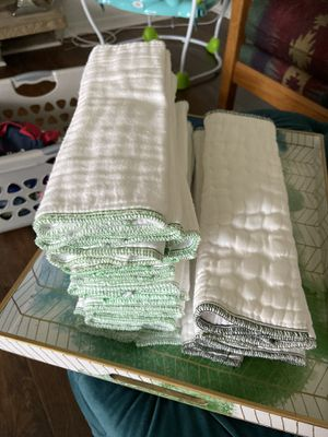 Prefolds cloth diapers for Sale in Tacoma, WA