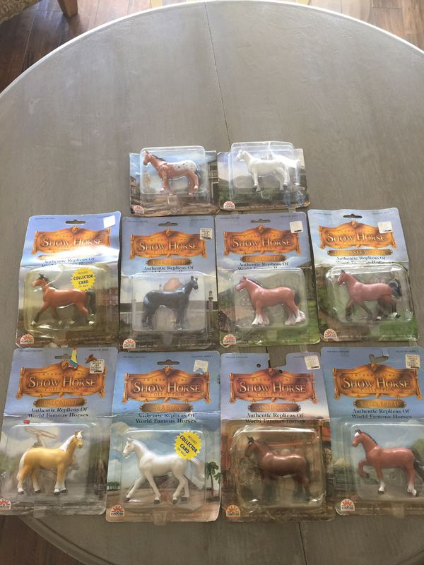 Vintage 1987 Funrise Collectors Toy Horse Collection SEALED IN ORIGINAL PACKAGING