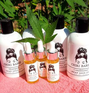 Chiki Babie shampoo & conditioner with hemp seed oil for Sale in Fresno, CA