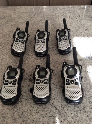 Motorola Talkabout MT 352 R FRS Weatherproof Two Way 35 Mile Radio Pack Silver for Sale in Englewood, CO
