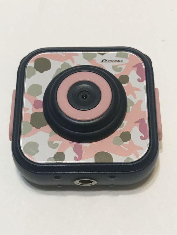 DROGRACE Children Kids Camera Waterproof Digital Video HD Action Pink