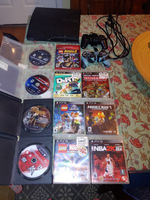 Ps3 with games for Sale in Portland, OR