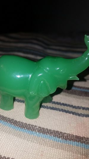 Hand-carved Jade Crystal Elephant for Sale in Fairfax, VA