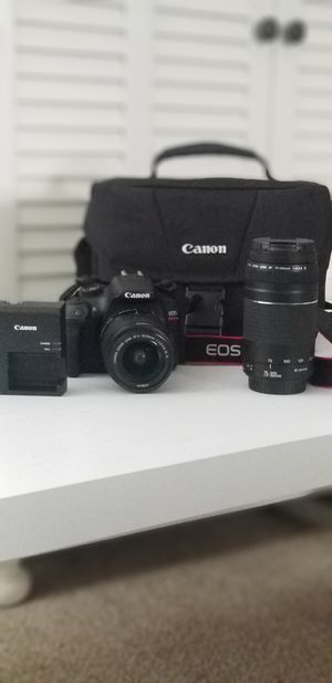 Canon - EOS Rebel T6 DSLR for Sale in UPPR CHICHSTR, PA