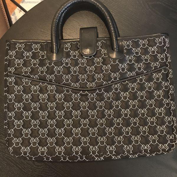 Disney Minnie Mouse laptop bag RARE