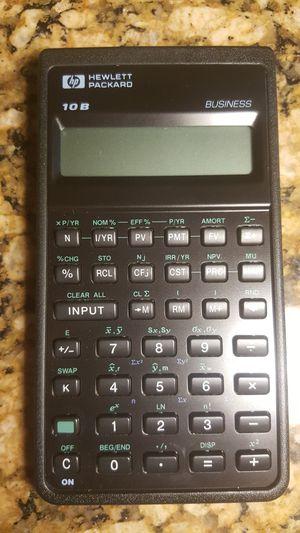 Hewlett Packard 10B Business calculator for Sale in Mesa, AZ