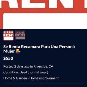 Recámara for Sale in Riverside, CA