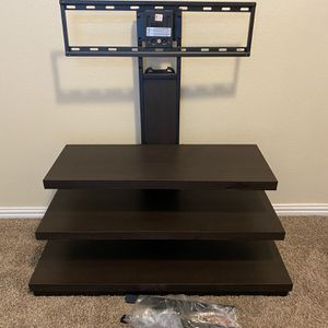 TV Stand With TV Mounting Hardware for Sale in Lake Dallas, TX