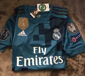 Adidas Real Madrid 3third champion legue Away #7 Cristiano jersey for Sale in Washington, DC