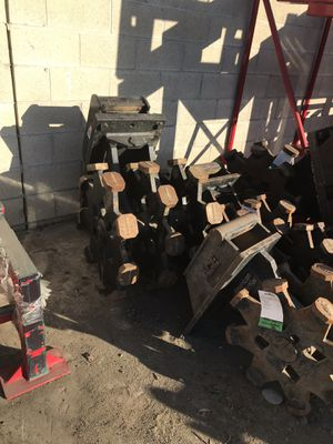 Mini excavator compaction & backhoe wheels on sale for Sale in Long Beach, CA