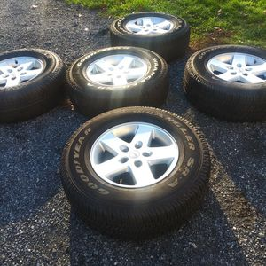 JK JEEP WRANGLER WHEELS/TIRES! 1,100 Miles only! for Sale in New Holland, PA