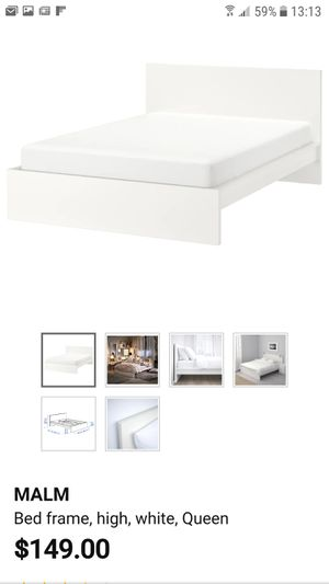 Ikea queen bed frame for Sale in Chandler, AZ