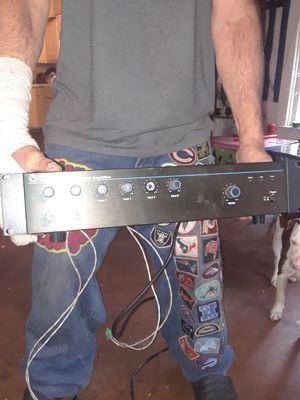 Atlas Sound. AA120 Mixer Amplifier for Sale in Indianapolis, IN
