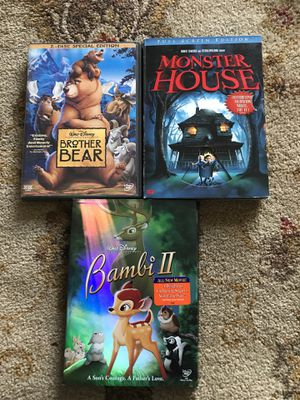 Disney movies 3 for $10 Firm!!! for Sale in Burbank, CA