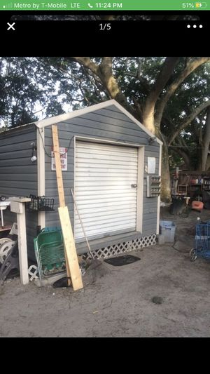 12 by 20 ft shed 2500 cash or trade for Sale in Elfers, FL