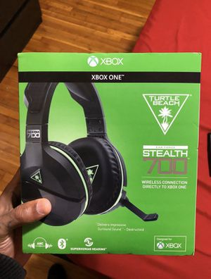 Turtle beach stealth 700 wireless gaming headset with Bluetooth and noise cancellation for Sale in Cockeysville, MD
