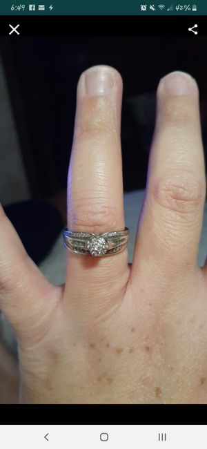 Sterling silver wedding ring for Sale in San Antonio, TX
