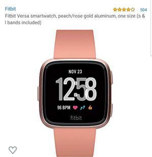 Brand New Fitbit Versa for Sale in Lakeville, MN