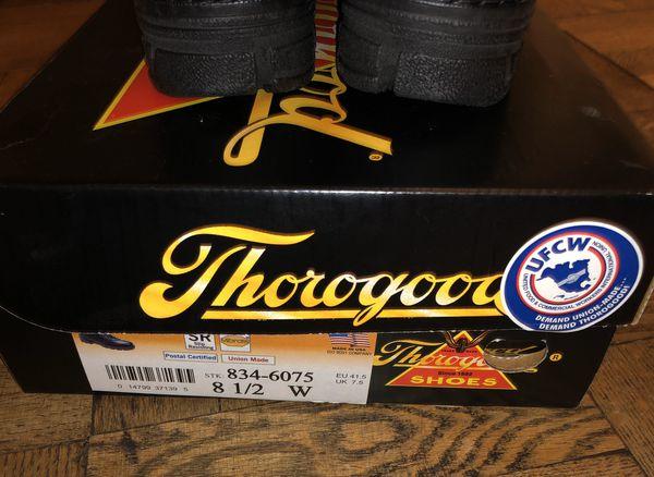 Black Thorogood Books 8.5W New in Box