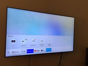 Samsung 4K 55 inch + tv mount for Sale in Miami Beach, FL