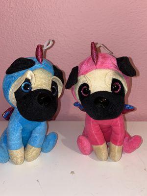Adorable pug plushies for Sale in Tijuana, MX