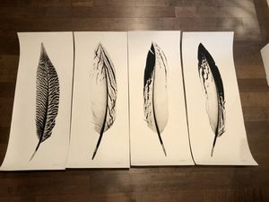 Feather collection by Anthony Tahlier for Sale in Kirkland, WA